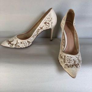 Gianvito Rossi bridal heels